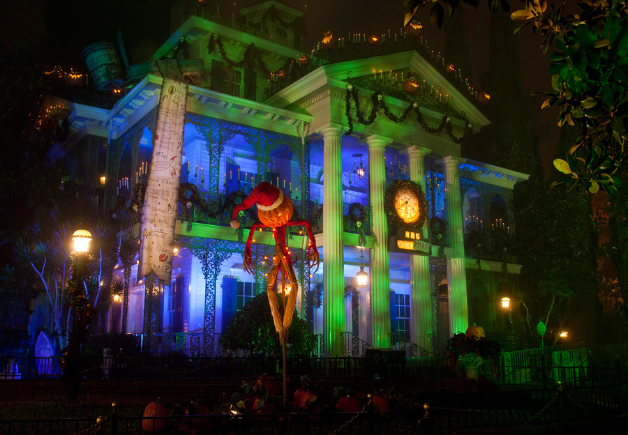 Things You Might Not Know About Haunted Mansion Holiday at