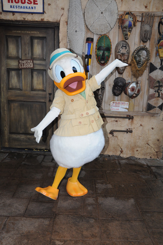 Donald's Dining Safari at Disney's Animal Kingdom Theme Park