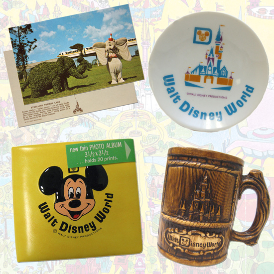 A Look Back at Early Walt Disney World Resort Merchandise