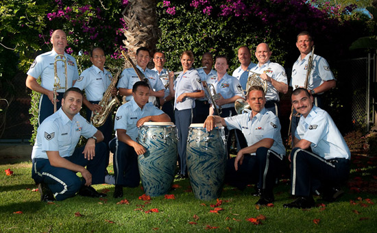 The U.S. Air National Guard Band's Fuego Azul Ensemble