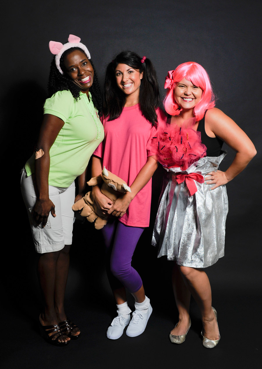 Costumes At The Walt Disney World Trick Or Meet Up