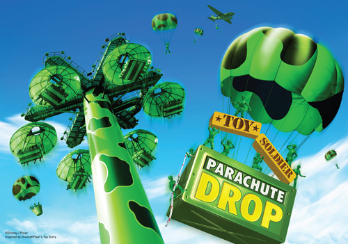 Toy Soldier Parachute Drop Coming to Toy Story Land at Hong Kong Disneyland
