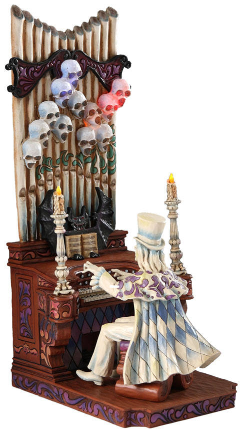 Haunted Mansion Ballroom Organist By Jim Shore for Walt Disney World's 40th Anniversary