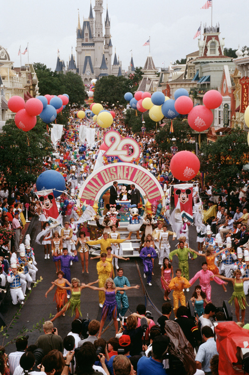 Anniversary Celebration at Magic Kingdom Park