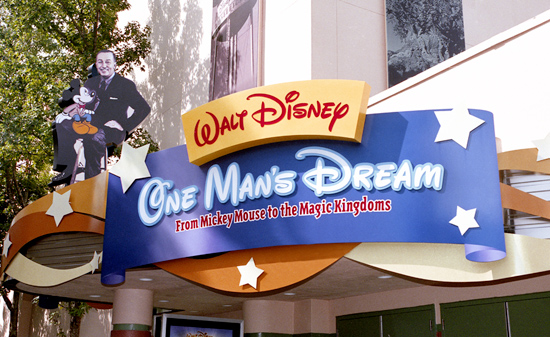 Walt Disney: One Man's Dream at Disney's Hollywood Studios
