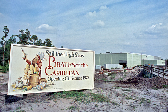 Vintage Walt Disney World: Pirates Land at Magic Kingdom Park