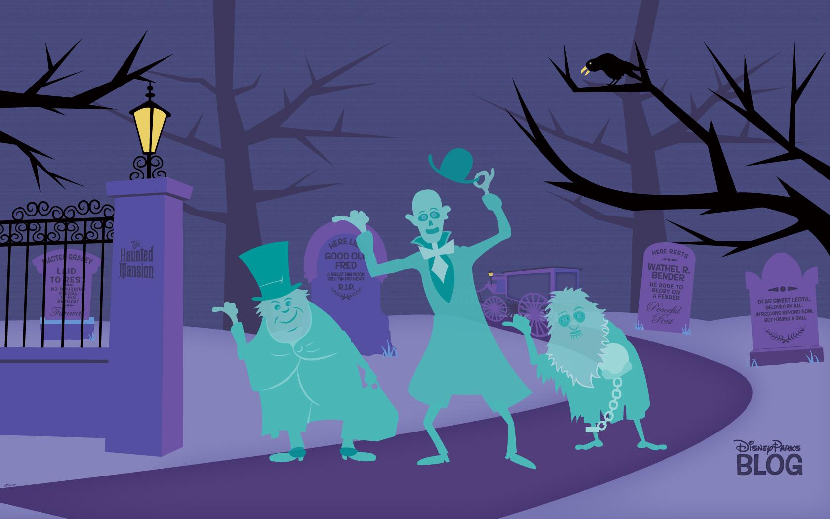 Halloween Desktop Wallpapers | Disney Parks Blog
