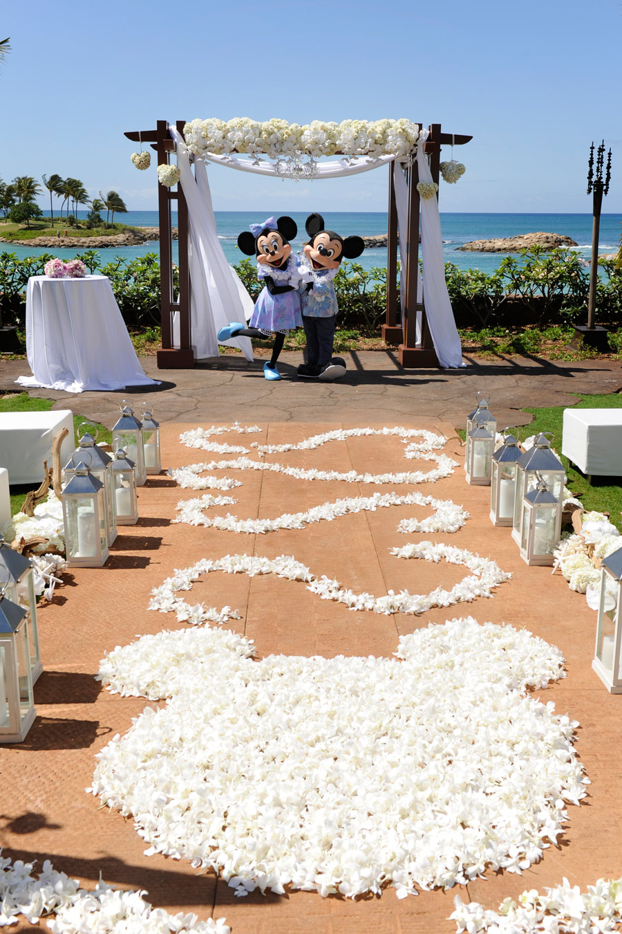Weddings at disney parks and resorts -  Disney S Fairy Tale Weddings Honeymoons Aulani A Disney Resort