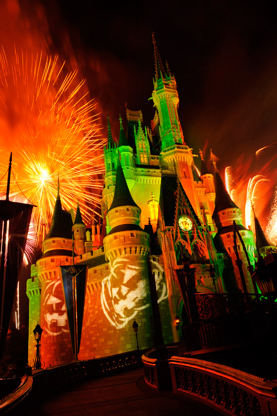 Happy HalloWishes Fireworks at Magic Kingdom Park