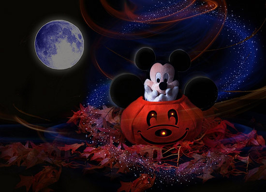 Trick or Treat with Mickey or Minnie at Walt Disney World Resort
