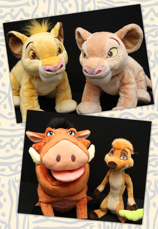 New Lion King Plush at Disney Parks