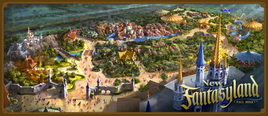 New Fantasyland Banner