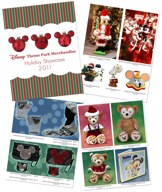 Disney Theme Park Merchandise 2011 Holiday Guide