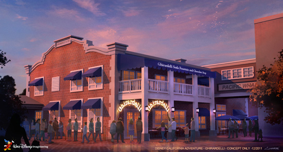 Ghirardelli is Coming to Disney California Adventure Park