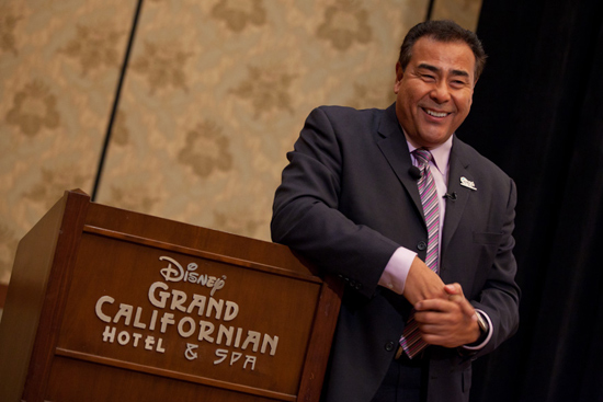 Disneyland Resort Diversity Resource Group Welcomes ABC News Correspondent John Quiñones