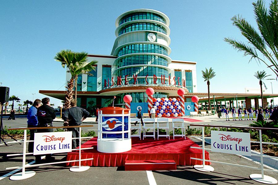 Vintage Walt Disney World Disney Cruise Line Terminal Opens At - Is disney building a new cruise ship