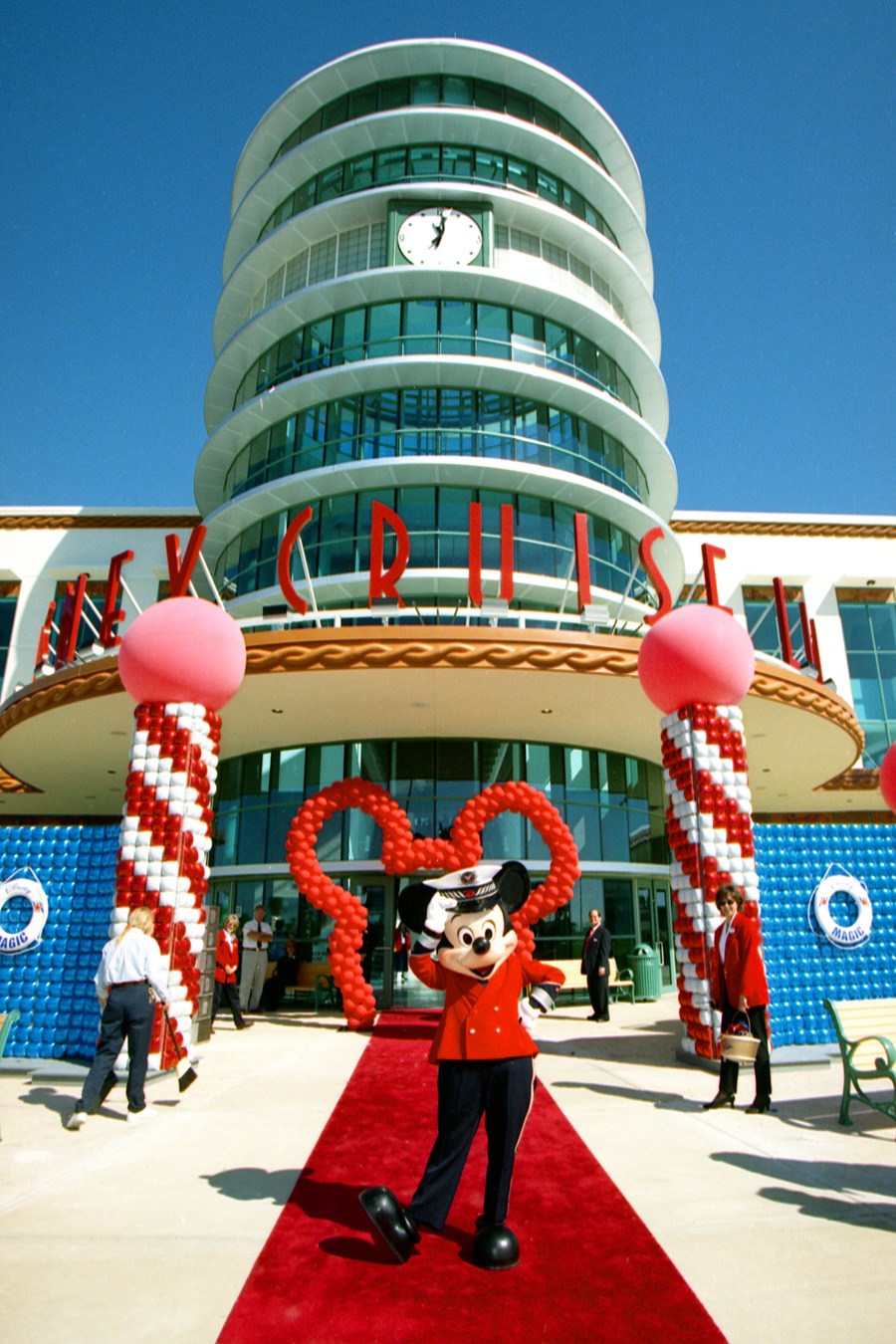 Vintage Walt Disney World Disney Cruise Line Terminal Opens At - Cruises from port canaveral