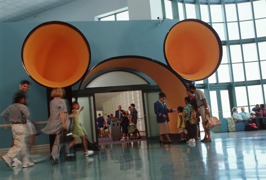Vintage Walt Disney World Disney Cruise Line Terminal