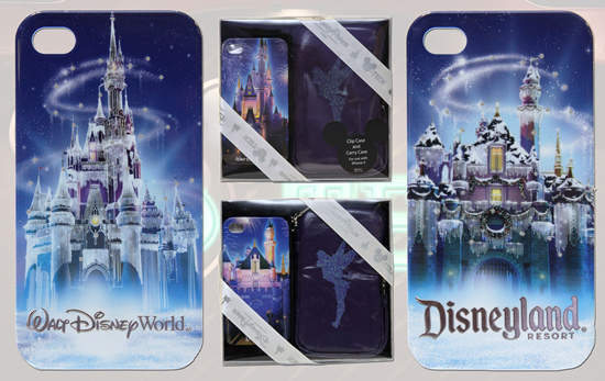 Limited Edition D-Tech Holiday Castle Smartphone Cases for Walt Disney World and Disneyland Resorts