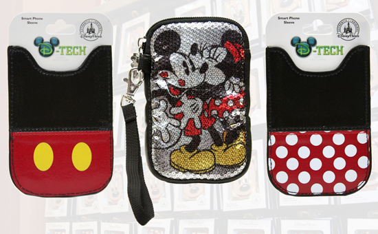 New D-Tech Cases Featuring Minnie Mouse and Mickey Mouse Available From Disney Parks