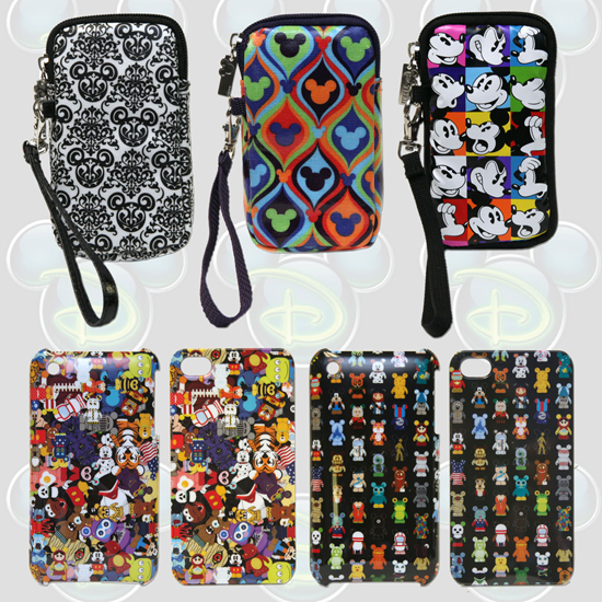 D-Tech Smartphone Cases Featuring Mickey Mouse and Vinylmation Figures, Available From Disney Parks