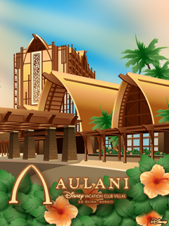 iPhone/Android Wallpaper Featuring Aulani, Disney Vacation Club Villas, Ko Olina, Hawai'i
