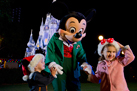 Mickey Mouse Having Holiday Fun at Walt Disney World Resort