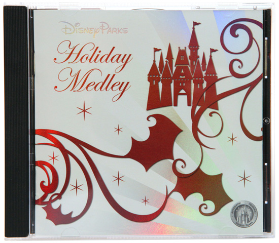 Disney Parks Holiday Medley CD, Featuring Performances from Goofy, Donald, Mickey and Minnie, Dr. Teeth, the Electric Mayhem of The Muppets and More