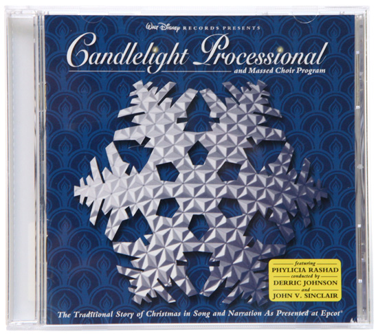 Candlelight Processional and Massed Choir Program: The Traditional Story of Christmas in Song and Narration as Presented at Epcot Holiday CD from Disney Parks