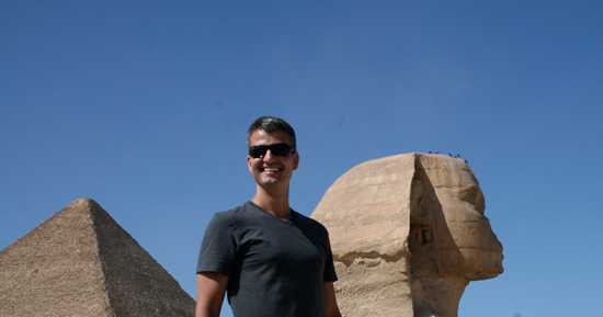 Josh D'Amaro Travels with Adventures By Disney to Egypt
