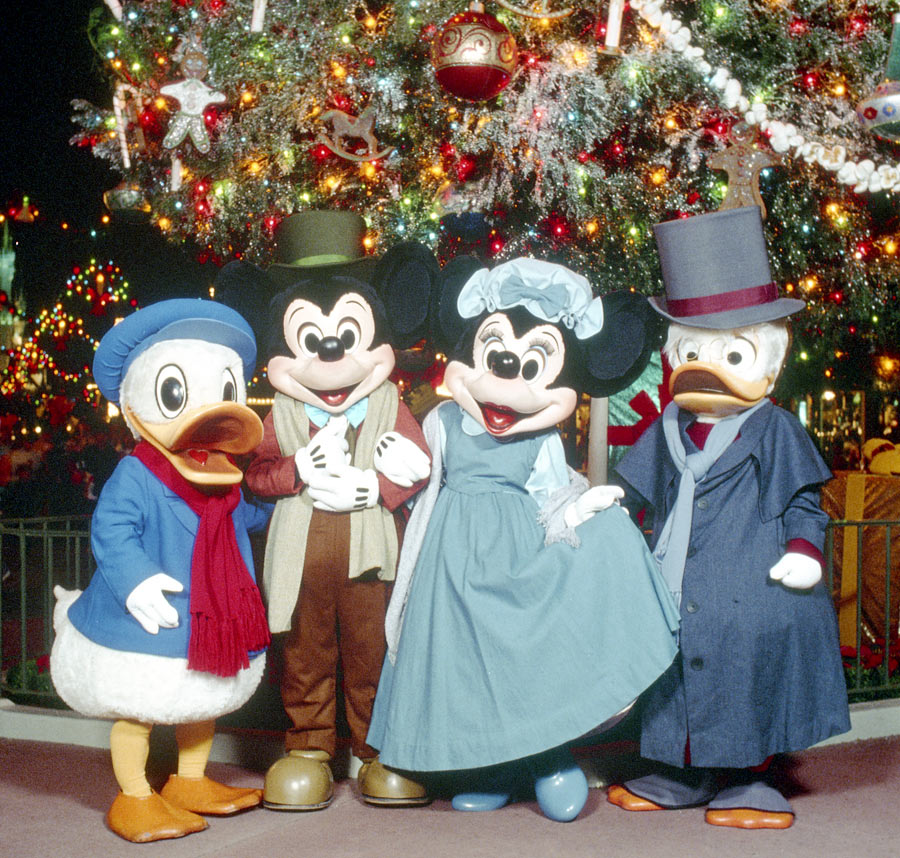 Vintage Walt Disney World: 'A Christmas Carol' Comes to Disney ...