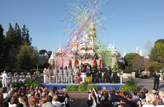Rose Bowl Game Teams Visit Disneyland Park