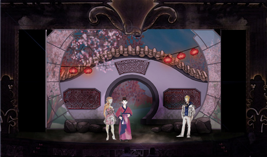 Concept Art for New Show 'Wishes' Debuting on Disney Fantasy