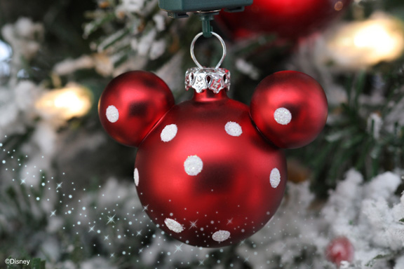 mickey mouse ornament for your christmas tree available from disney floral - Disney Christmas Trees