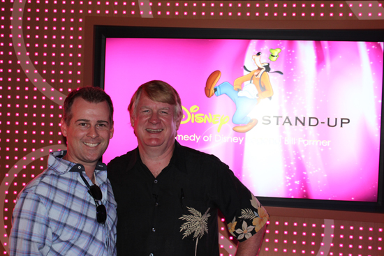 Ryan March with Disney Legend Bill Farmer, the Voice of 'Goofy'