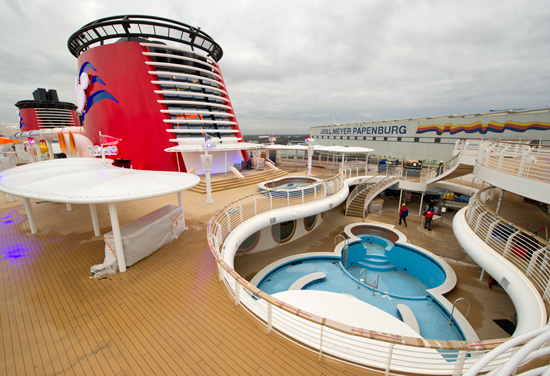 Water Activities Aboard the Disney Fantasy