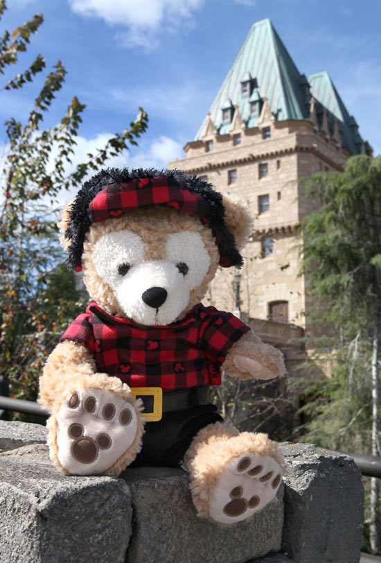 Duffy the Disney Bear Canada Costume