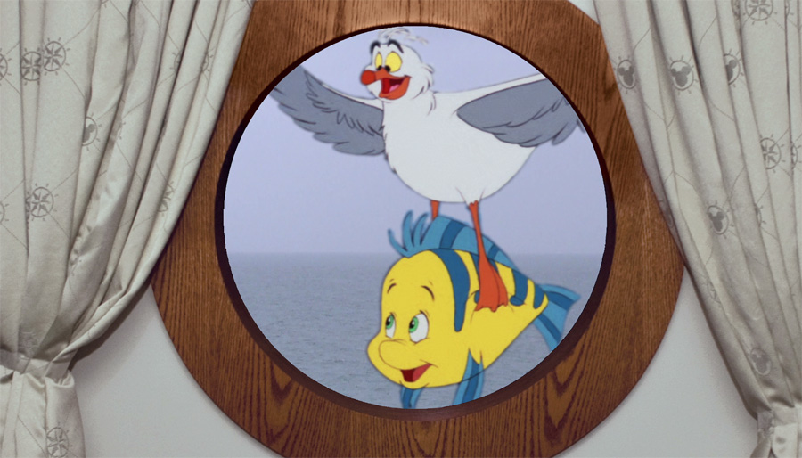 Magical Portholes On The Disney Fantasy Disney Parks Blog