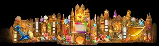 'it's a small world' at Disneyland Park Will a Sand Castle Segment in Disney Animation Beginning Feb. 1 as Part of 'The Magic, The Memories and You!'
