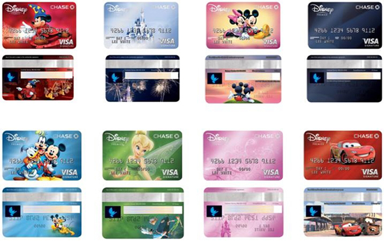New Disney's Premier Visa Card Launches with 8 Exclusive Designs ...