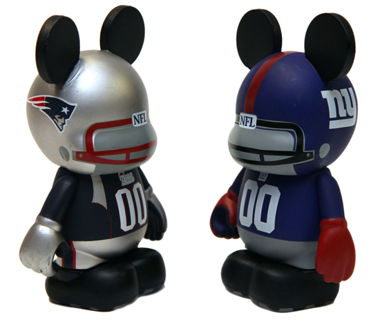 New Vinylmation Sports Series Comes to Disney Parks, Including New England Patriots and New York Giants Figures