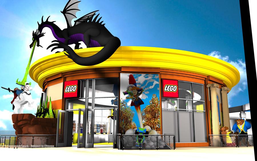 LEGO Store at Downtown Disney District at Disneyland Resort ...