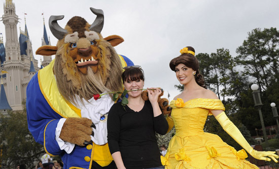 Kelly Clarkson visits the Walt Disney World Resort