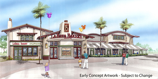 La Brea Bakery Café to Expand in Downtown Disney District