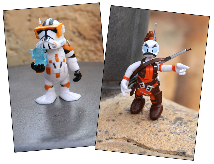 Star Wars Characters Toys : New star wars character action figures arrive in march at