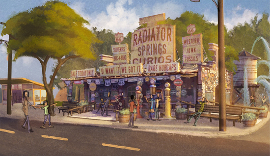 Radiator Springs Curios Coming to Disney California Adventure Park