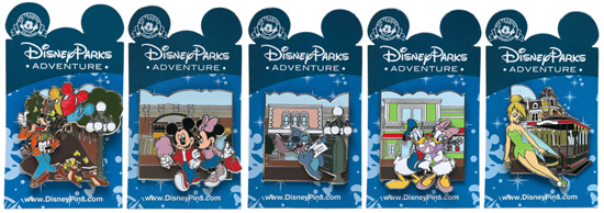 Exclusive Quarterly Pin Set Available on the Disney Parks Online Store