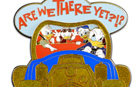Donald Duck 'Are We There Yet?!?' Pin