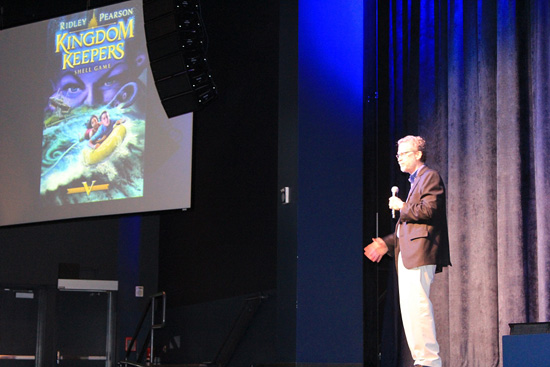 Author Ridley Pearson Gives a Special Presentation at Disney Homeschool Days at Walt Disney World Resort.