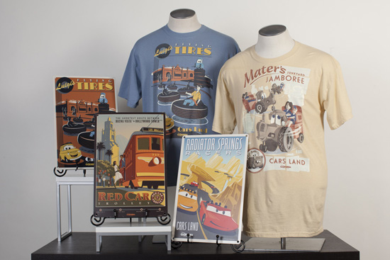 Disney California Adventure Park Attraction Poster-Inspired Tees, Deluxe Prints and Metal Signs Arriving in Late March/Early April